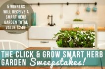 Ron and Lisa - Click & Grow Smart Herb Garden Sweepstakes - Ron and Lisa