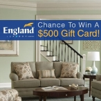 England Furniture $500 Gift Card Summer Sweepstakes - England Furniture