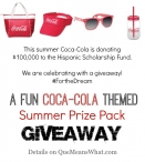 Coca-Cola Themed Summer Prize Pack US 8/4 - Que Means What