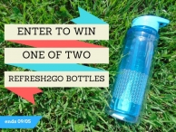Refresh2go Giveaway - Your Healthy Year