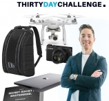 Win a DJI Phantom 4 drone Apple MacBook Canon camera - 30DayChallenge