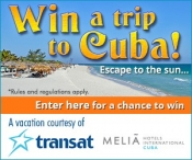 All-inclusive Vacation For Two To The Melia Peninsula Varadero Cuba Giveaway - Vaccines411