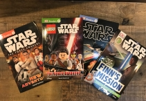 3 Star Wars Readers Books From DK Giveaway - One Smiley Monkey