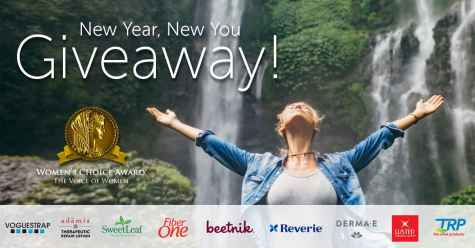 $1000 New Year New You Products Giveaway - Women's Choice Award