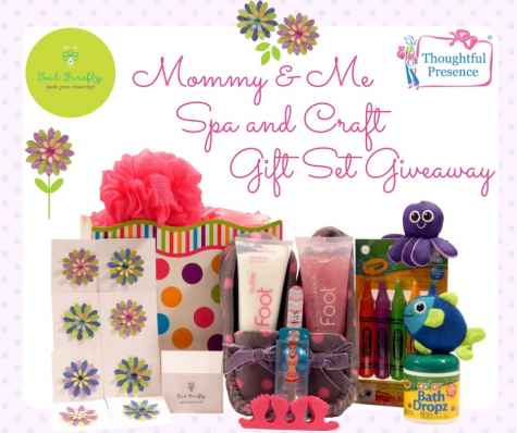Mommy & Me Spa And Craft Gift Set Giveaway - Thoughtful Presence, Inc.