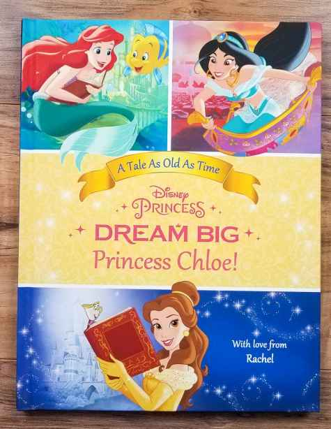 Personalized Dream Big Princess: Belles Special Edition Book Giveaway - Our Family World