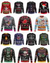 WIN a Xmas Sweater of your choice & more - Anime Ape